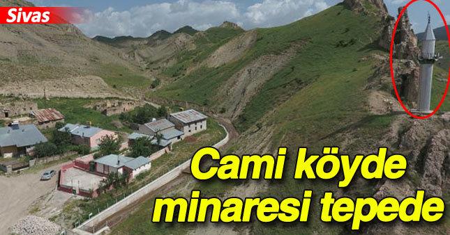 Sivas'ta görenleri şaşırtan cami!