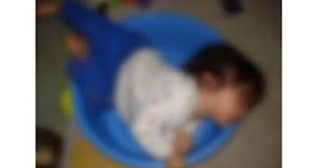Su dolu leğene düşen küçük çocuk hayatını kaybetti
