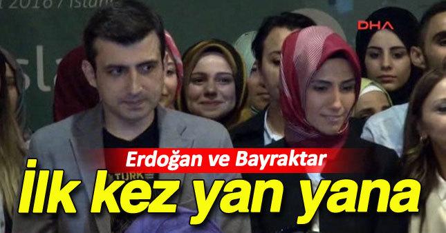 Sümeyye Erdoğan nişanlısıyla ilk kez görüntülendi