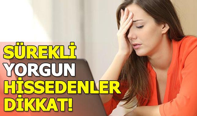 Sürekli yorgunluk hissi neden olur, yorgunluğa ne iyi gelir?
