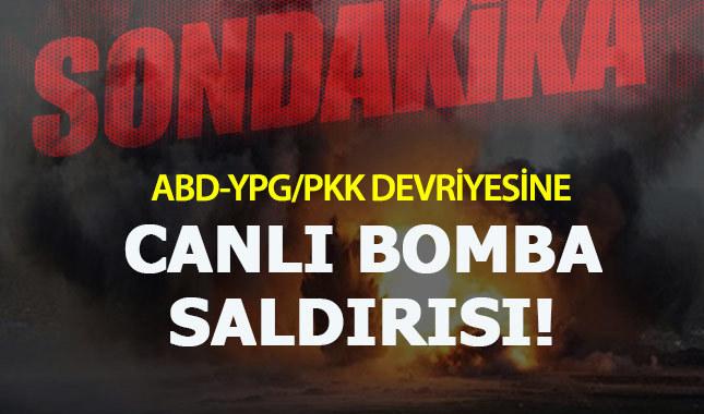 Suriye'de ABD-YPG konvoyuna intihar saldırısı!