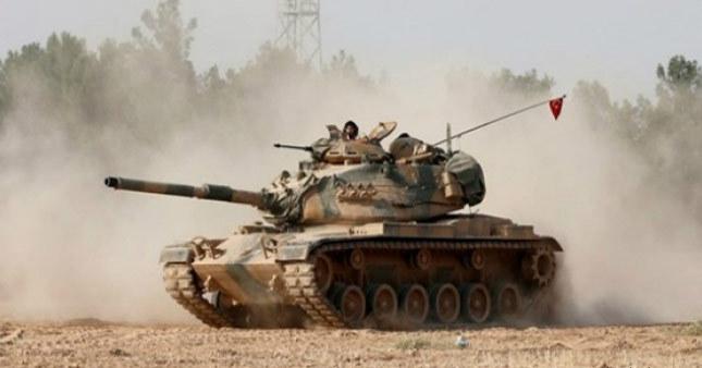 Suriye'de TSK tankı vuruldu: 3 asker yaralı