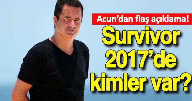 Survivor 2017'de kimler olacak?