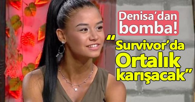 Survivor Denisa'dan flaş iddia!