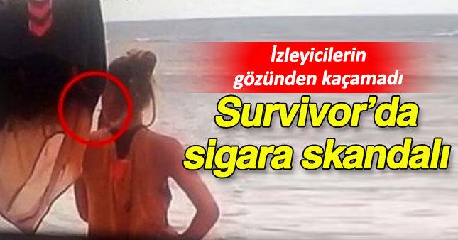 Survivor'da sigara skandalı