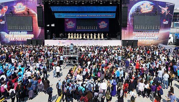 TEKNOFEST'in ziyaretçi sayısı bir milyonu aştı