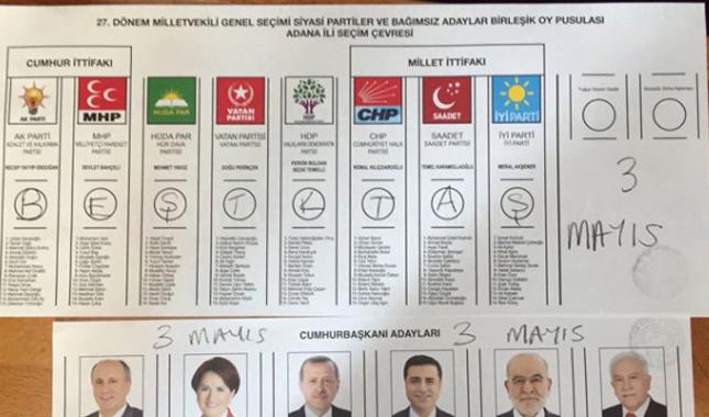 TFF'ye kızan Beşiktaşlı taraftarlar hıncını oy pusulasından aldı