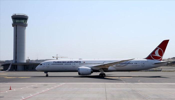 THY'nin üçüncü rüya uçağı da İstanbul'da!