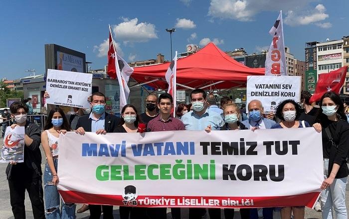 TLB'den Marmara *Denizi için çağrı: 'Mavi Vatanımızı temiz tutalım, geleceğini koruyalım!
