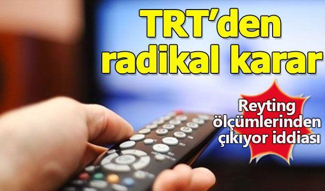 TRT Reyting savaşlarından çekiliyor mu?