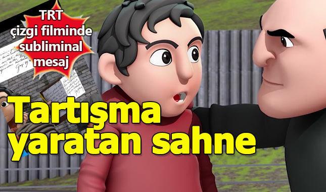 TRT çizgi filminde Atatürk imzalı subliminal mesaj