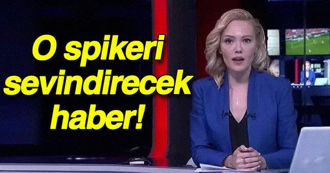 TRT spikerini sevindirecek haber