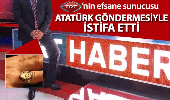 TRT'nin duayen sunucusu Zafer Kiraz, Atatürk göndermesiyle istifa etti (Zafer Kiraz kimdir?)