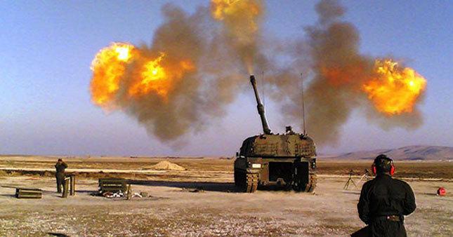TSK, IŞİD'e karşılık verdi
