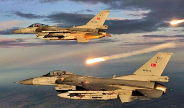 TSK, Irak'ın kuzeyindeki terör hedeflerini vurdu