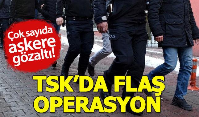 TSK'da FETÖ operasyonu: 140 gözaltı