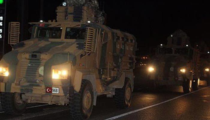 TSK'den Suriye sınırına asker takviyesi