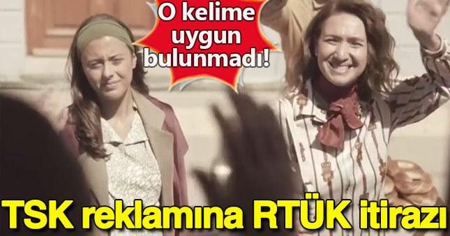 TSK'nın kamu spotu reklamına RTÜK engeli