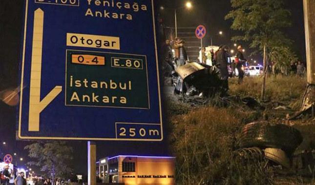 Kazada Araç İkiye Bölündü !