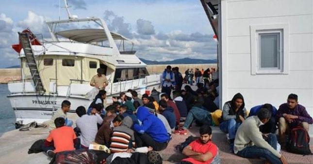 Tansu Çiller'in yatından 134 göçmen çıktı