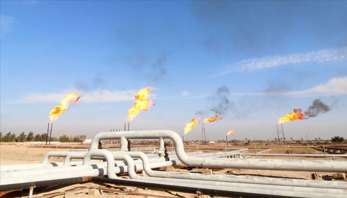 Tekirdağ'da ilk doğal gaz ateşi