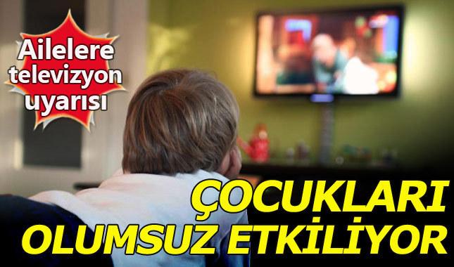 Televizyon çocuk gelişimini olumsuz etkiliyor
