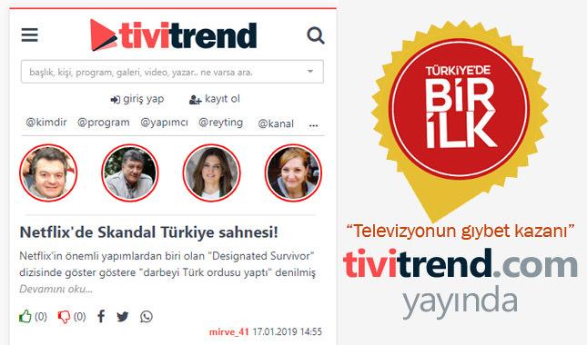 """""""Televizyonun gıybet kazanı"""" tivitrend.com yayında"""