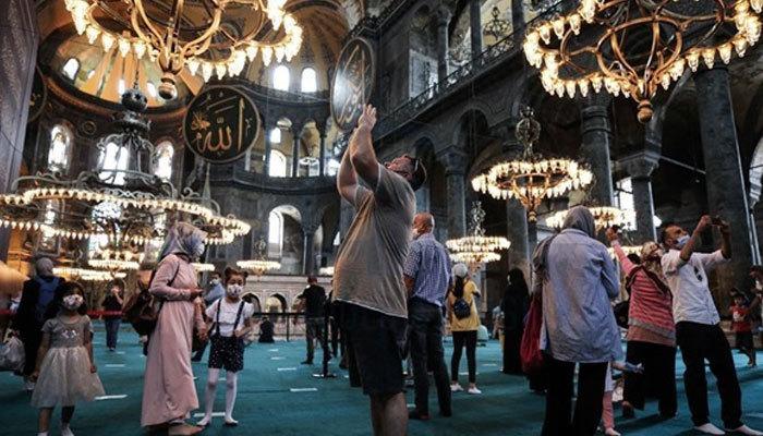 Temmuz ayında Ayasofya'nın camiye dönüşmesi konuşuldu