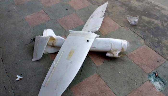 Terör örgütünün insansız hava aracı düşürüldü