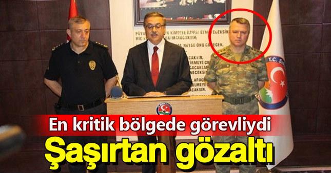 Terörle mücadelenin kritik ismi FETÖ'den gözaltına alındı