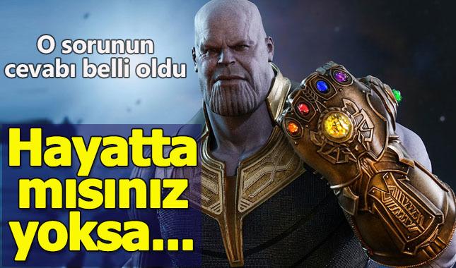 Thanos'un sizi öldürüp öldürmediğini öğrenebilirsiniz (site - adres)