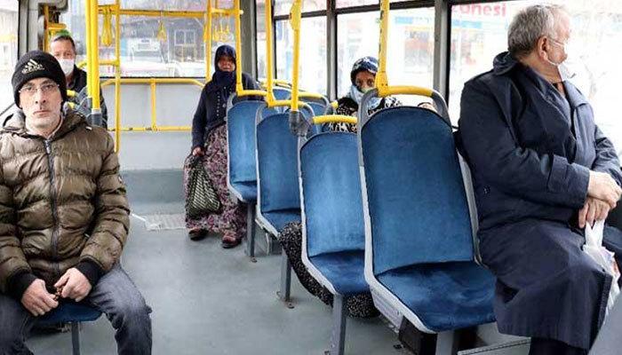 Toplu ulaşımda yüzde 50 sınırlaması kalktı