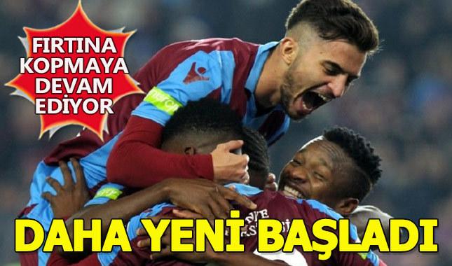 Trabzonspor, rakiplerinin korkulu rüyası haline geldi