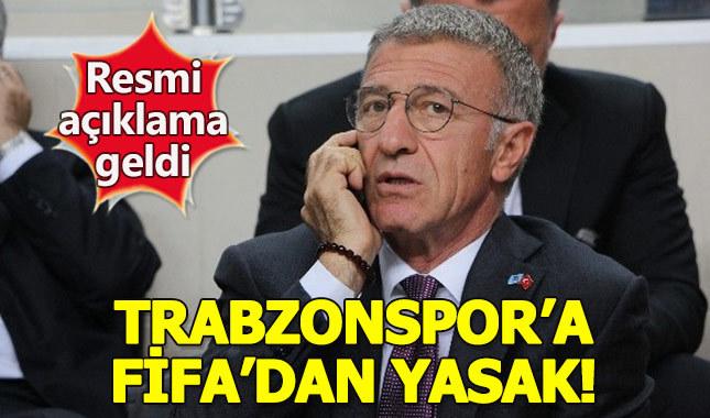 Trabzonspor'a FİFA'dan çok kötü haber!