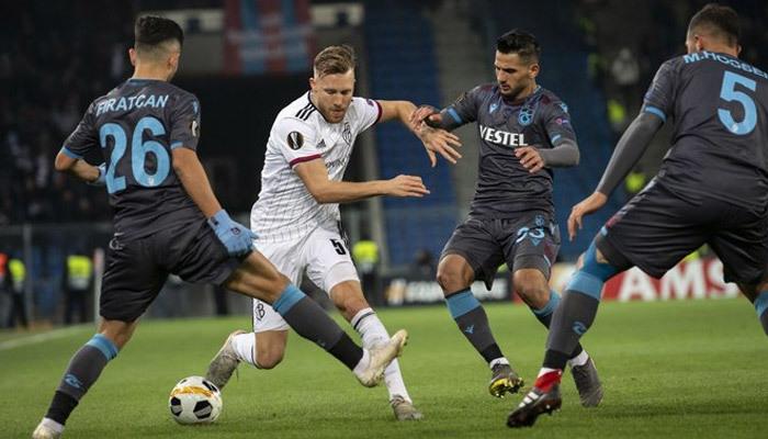 Trabzonspor'dan Avrupa'ya hüzünlü veda