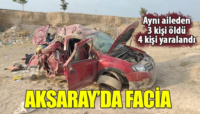 Trafik kazası o aile için facia