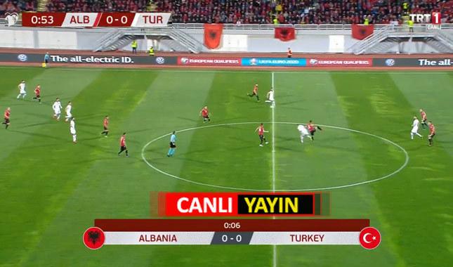 Trt1 canlı izle | Arnavutluk - Türkiye canlı yayın maç linki