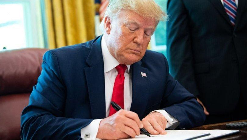 Trump kararını verdi! İran'a yaptırımlar artıyor!