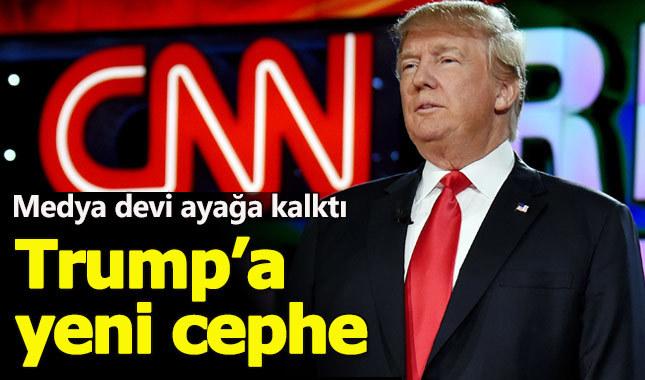 Trump, medya devi CNN tarafından dava edildi