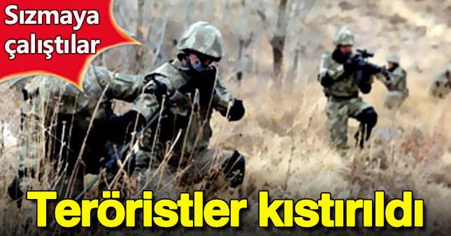 Tunceli'de PKK'lılarla çatışma