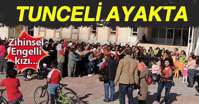 Tunceli'de zihinsel engelli öğrencinin hamile bırakılması kenti birbirine kattı