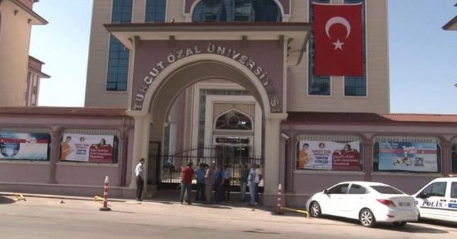 Turgut Özal Üniversitesi'ne kilit vuruldu