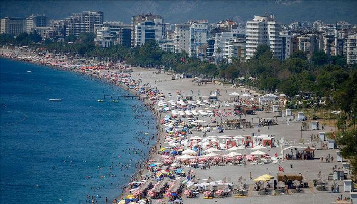 Turizm kentlerinde bayram tatili yoğunluğu