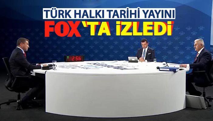 Türk halkı tarihi yayını FOX'ta izledi