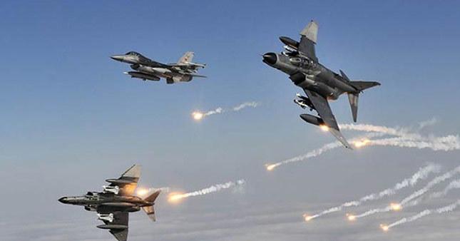 Türk jetleri vurdu 15 terörist öldürüldü