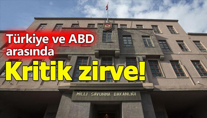 Türk ve ABD'li yetkililer güvenli bölge için görüştü