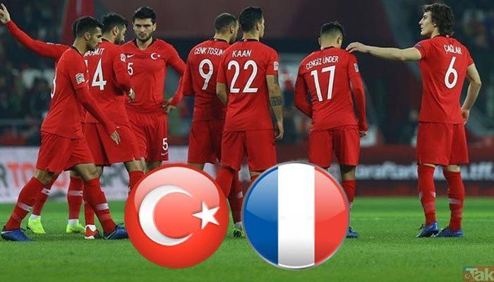 Türkiye - Fransa maçı ne zaman saat kaçta hangi kanalda | Milli maç ne zaman 2019