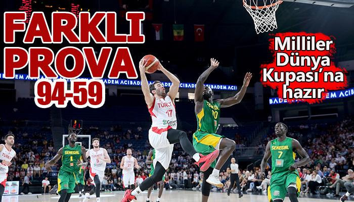 Türkiye 94-59 Senegal