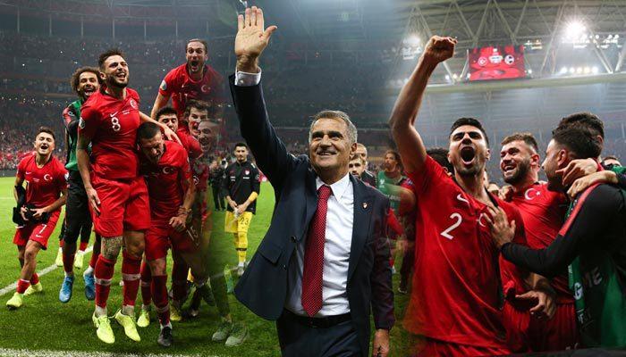 Türkiye EURO 2020 biletini kaptı