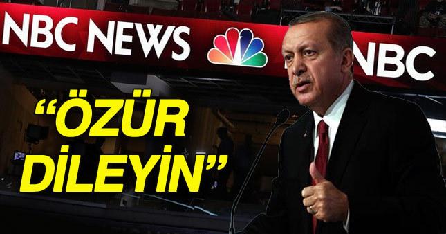 """Türkiye """"Erdoğan kaçtı"""" haberi için özür bekliyor"""